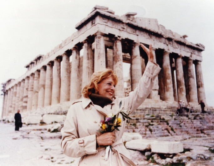 Melilna Mercouri was the inspiration behind the launch of the European capital initiative in 1983