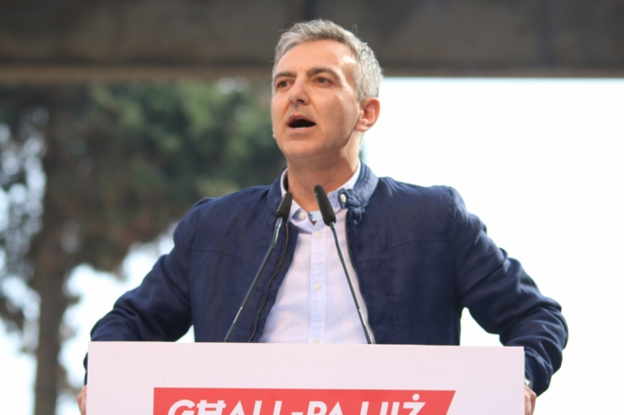 PN leader Simon Busuttil • Photos: Marc Edward Pace