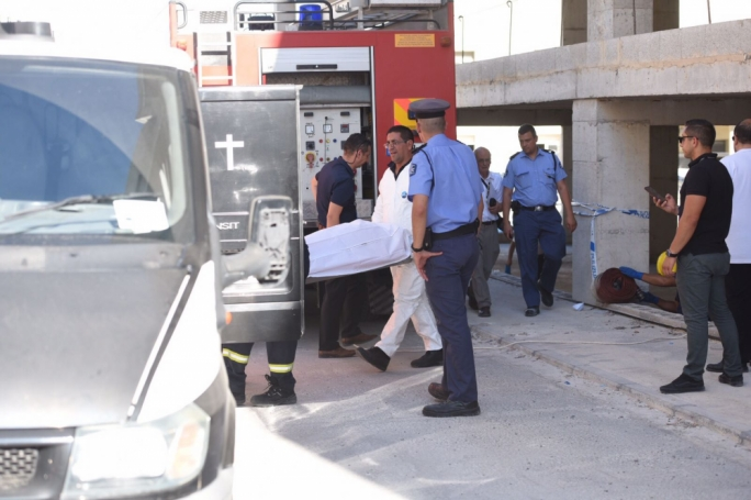 The discovery was made at around 12:40pm in an empty building in Triq il-Mastrudaxxa (Photo: James Bianchi/MediaToday)