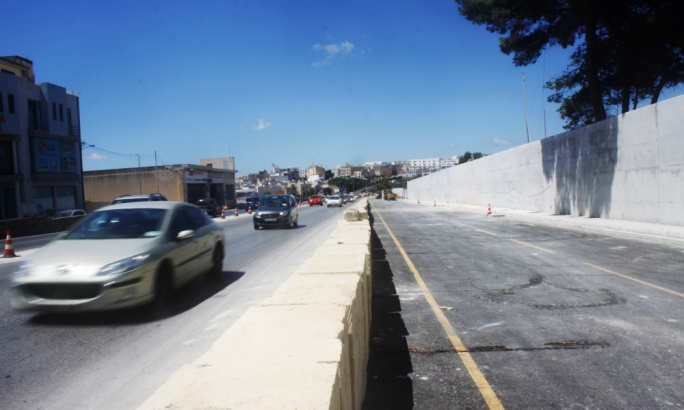 Marsa-Hamrun bypass project enters last phase