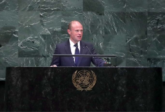 Muscat makes pitch for a digital revolution in his United Nations address