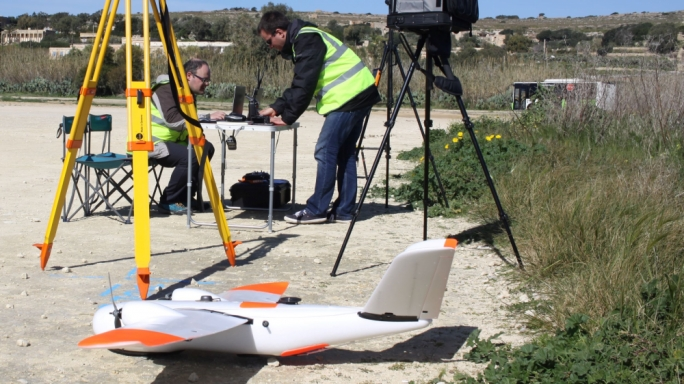"The authority responsible for roads in Malta has launched a nationwide aerial survey using drones, to develop a new ""orthophoto"" map to analyse the condition of all roads in Malta and Gozo."