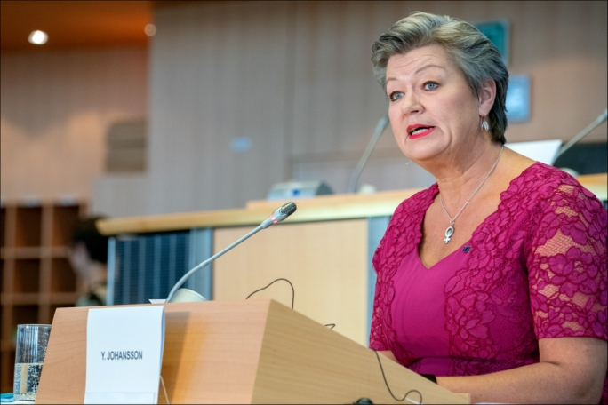 Malta will not tolerate lack of EU solution on migration, Commissioner Johansson told