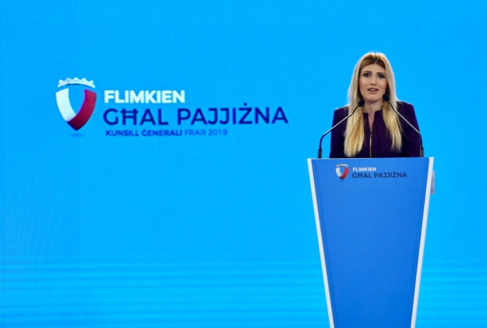 [WATCH] PN will keep defending Maltese and Gotizan citizens, Kristy Debono says