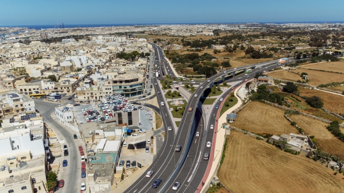 The proposed Luqa junction project