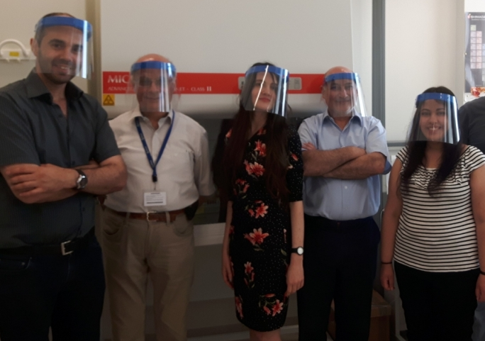 (Photo L-R: Amanda Mercieca, Carmel Sammut, Michelle Muscat, Ralph Camillieri and James Agius from the toxicology lab team. The team also includes Jonathan Vella and Joseph Magri who were also involved in the analysis of the samples)