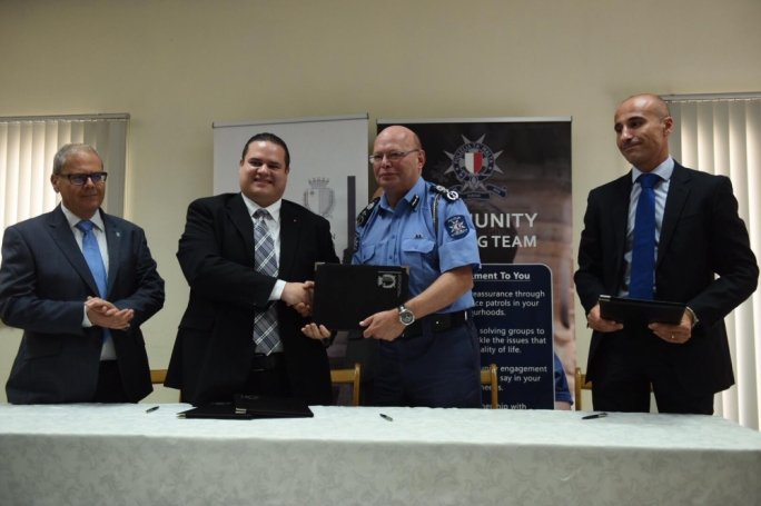 [WATCH] Police launch 'community policing' pilot project in Mellieha