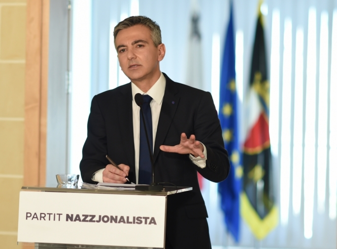 Simon Busuttil and his new shadow cabinet must reconnect the party with the people and demonstrate, in no uncertain ways, that the PN is on their side (Photo: Ray Attard)