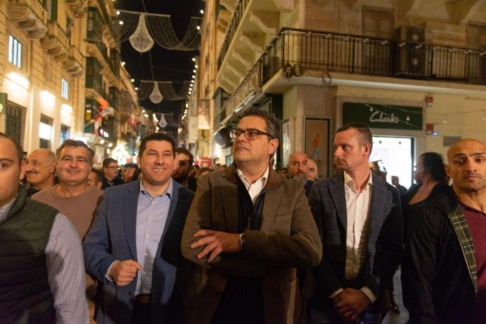 Restless MPs confront Delia over 'PN's absence' from national protest