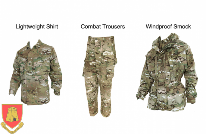 The new uniform comes in several configurations depending on the type of duties carried out by Maltese soldiers.