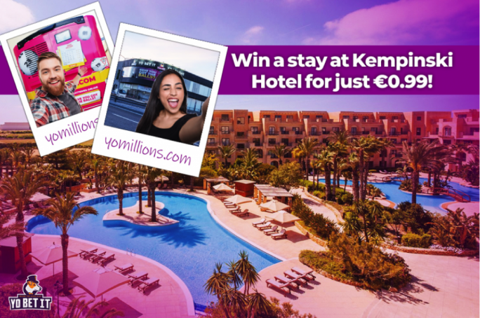 Win a stay at Kempinski Hotel...