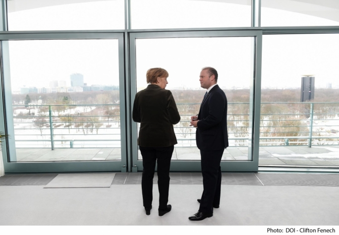 Muscat tells Merkel, 'I had better relationship with Gonzi'