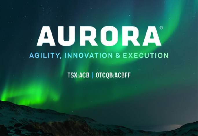 An image from an Aurora advert