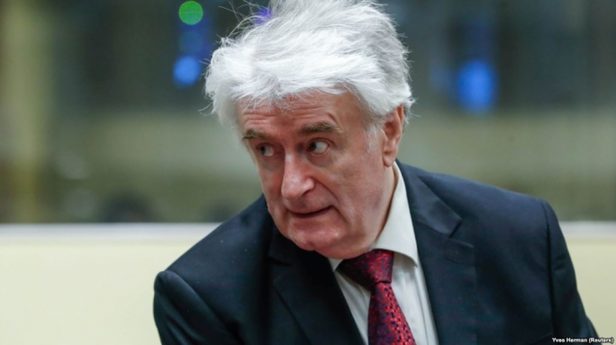 Karadzic was found guilty on 10 counts of genocide, war crimes and other atrocities, including planning the Srebrenica massacre of July 1995
