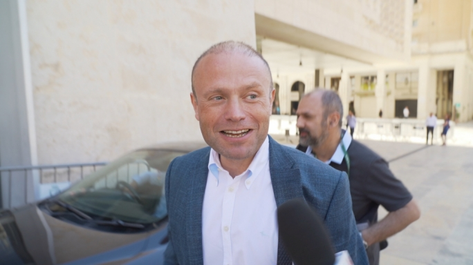 [WATCH] Joseph Muscat unfazed by suggestion Keith Schembri implicated in Caruana Galizia assassination