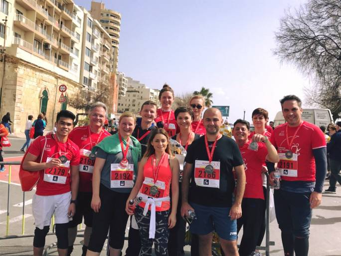 26 InterContinental Staff members took part in this year's marathon