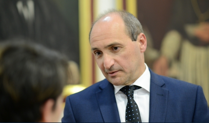 Parliamentary secretary Chris Fearne • Photo by Ray Attard