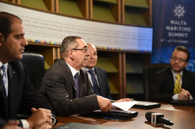 Transport minister Joe Mizzi. Photo by Ray Attard