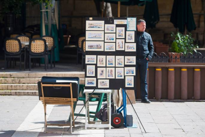 Valletta Local Council wants to regulate buskers selling 'artistic' goods (Photo: James Bianchi)