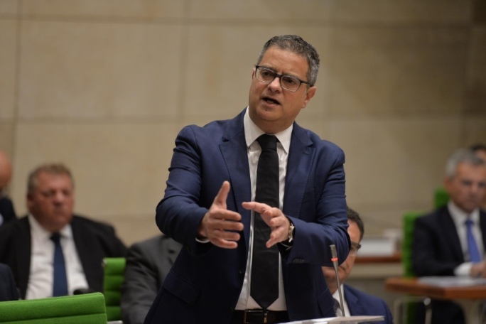 Adrian Delia delivered his second Budget speech since becoming PN leader
