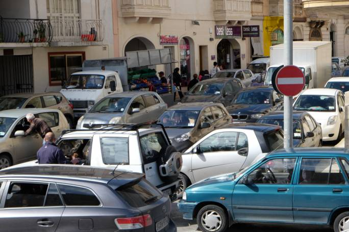 'Amusing' is not normally a word you can associate with Malta's traffic problem at the moment
