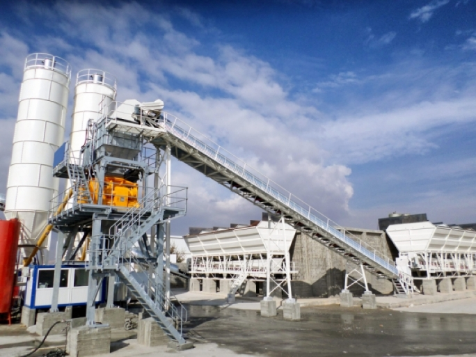 Batching/concrete plant (File photo)