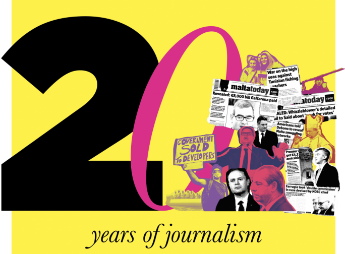 MaltaToday at 20: Don't say: 'Less double-page analyses, more listsicles please!'