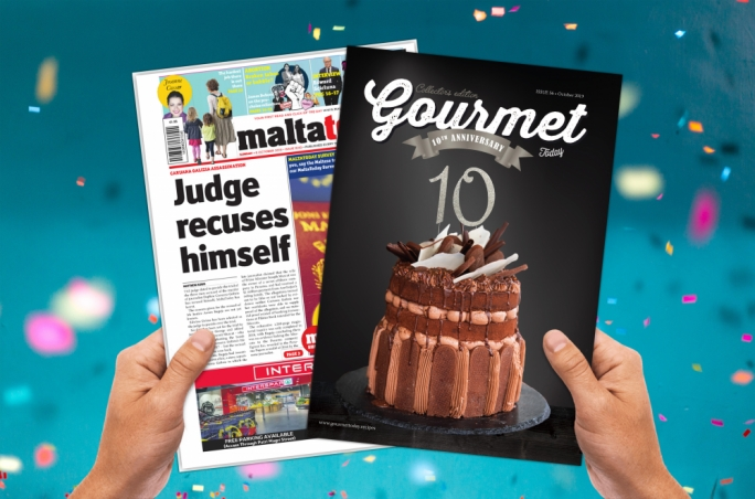 10th anniversary GourmetToday out tomorrow with MaltaToday