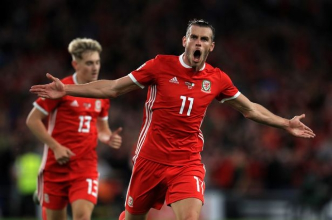 Gareth Bale scored a consolation goal for his nation