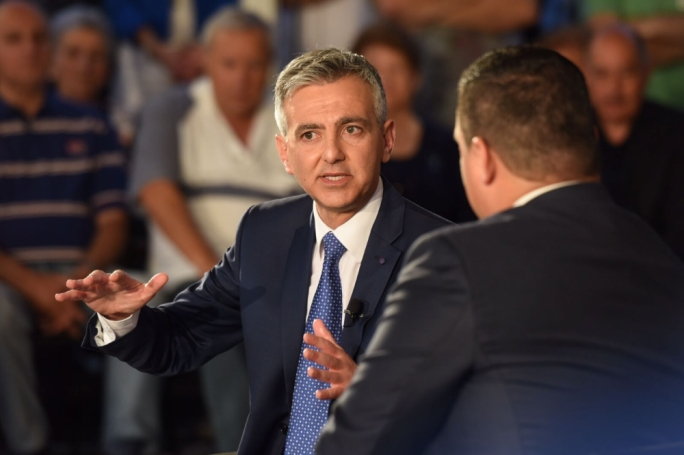 Simon Busuttil was addressing a political activity in Naxxar. Photo: James Bianchi
