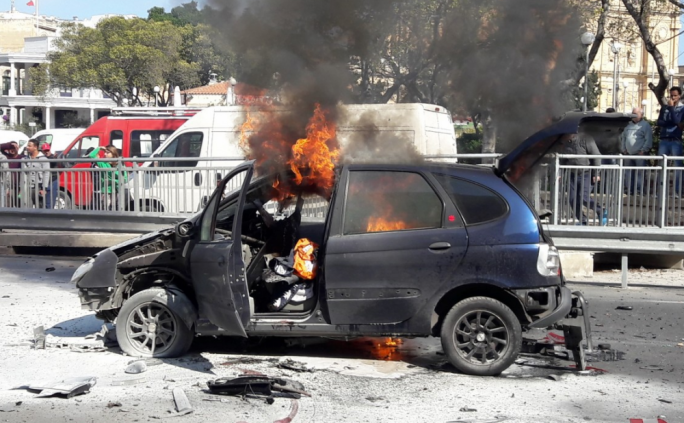 Last week, a car driven by Romeo Bone exploded in Msida, in one of the country's busiest roads