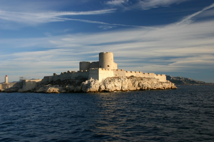 Chateau d'If: The island prison of Chateau d'If was made famous by Alexander Dumas' novel The Count of Monte Cristo