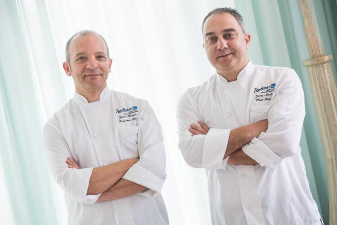 Radisson Blu Resort and Spa chefs James Bartolo and Jimmy Aquilina