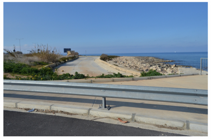 The old road: when the Coast Road was widened, the new layout was diverted off this parcel of land which now lies vacant, but the area would be large enough to host what developers are planning in the form of a coastline beach development and car park