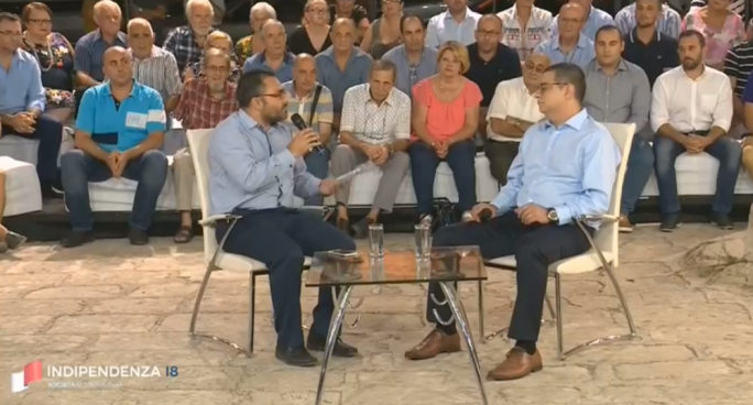 Adrian Delia said the PN would be voting against the db Group project