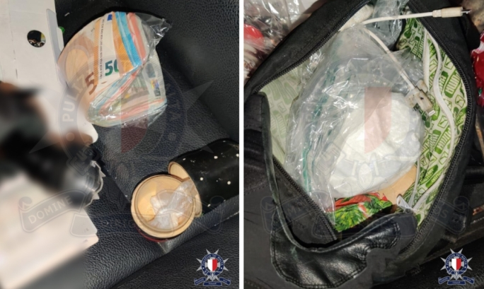 Updated | Police bust two selling cocaine from their car