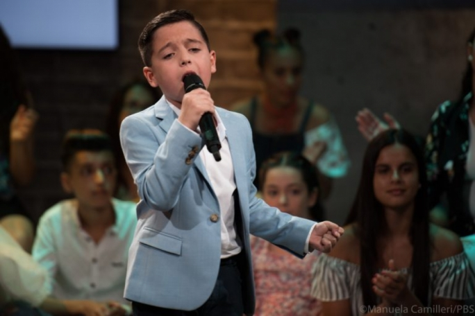 The next Joseph Calleja? Gianluca Cilia belts out 'Perdere l'amore' at Junior Eurovision festival