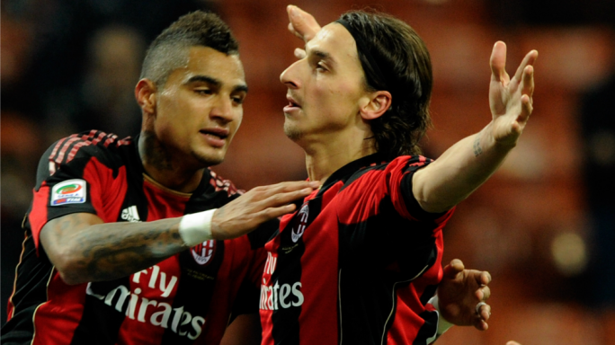 Zlatan Ibrahimovic already played for AC Milan between 2010 and 2012