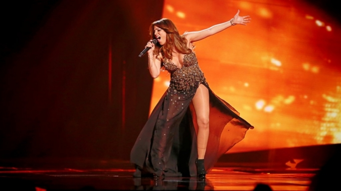 News of the singer's pregnancy first broke out in May during the run up for this year's Eurovision Song Contest
