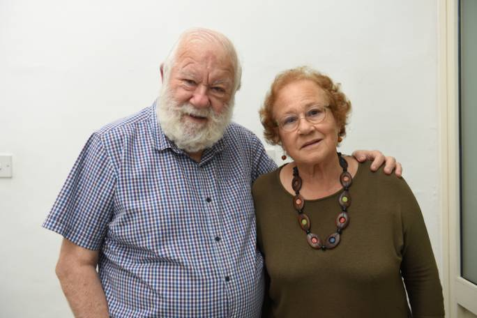 Albert and Lina McCarthy: Grateful that stigma associated with mental health is on the decline