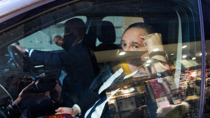 Keith Schembri leaving the courthouse after testifying in the public inquiry probing the murder of Daphne Caruana Galizia (Photo: James Bianchi/MaltaToday)