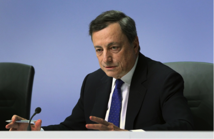 President Mario Draghi said the ECB felt it should remove the reference to 'using all the instruments available within its mandate'
