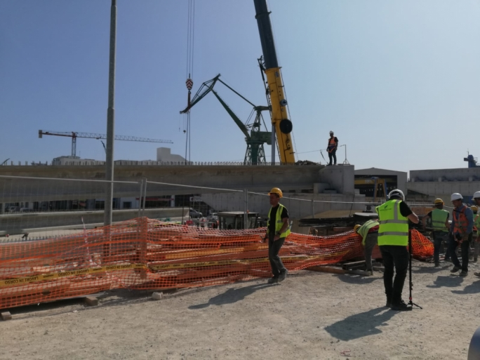 The first of seven flyovers at the Marsa junction will be in place by the end of summer
