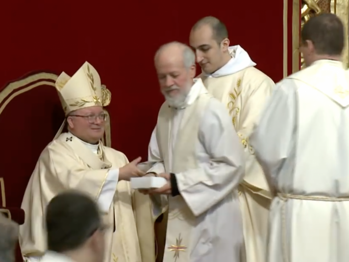 [LIVE] Catholic priests renew vows at St John's Co-Cathedral