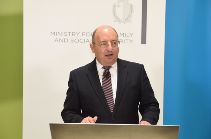 Home Affairs minister Michael Farrugia