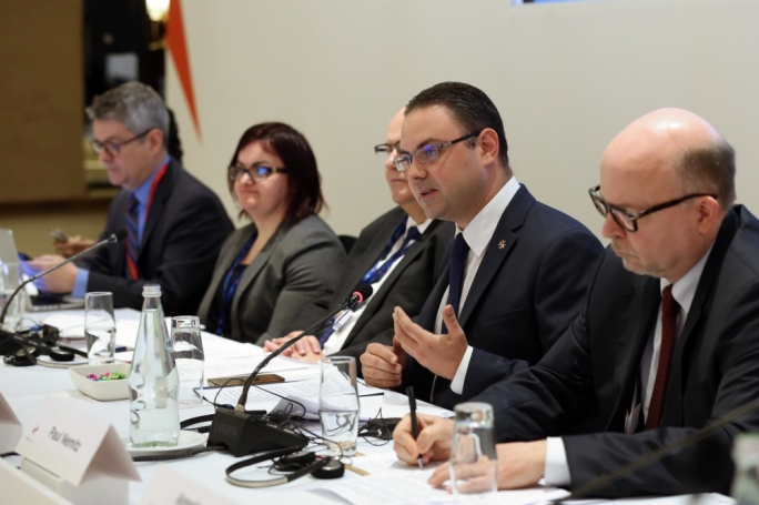 Just minister Owen Bonnici was addressing an experts' conference against online hate speech