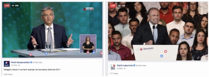 What day of silence? Labour and PN self-promote on the eve of election day