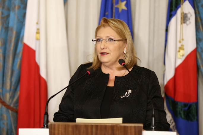 President of the Republic Marie Louise Coleiro Preca