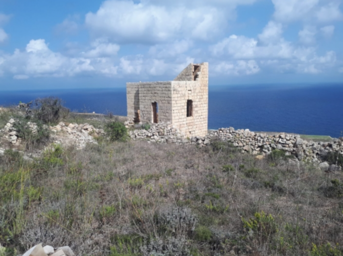 The Qala countryside ruins that was once destined to be turned into a villa with pool: first approved, then withdrawn by Joseph Portelli
