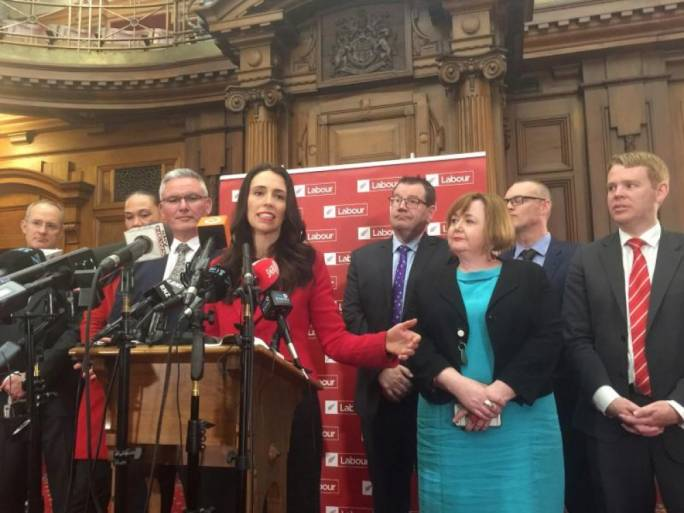 Jacinda Arden took over the post after Andrew Little stepped down in Wellington, New Zealand. (Photo: Charlotte Greenfield for Reuters)